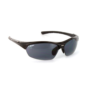 France1 Performance Sunglasses Black Gloss with Grey Lens