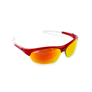 France1 Performance Sunglasses Fire Engine Red with Red Flash