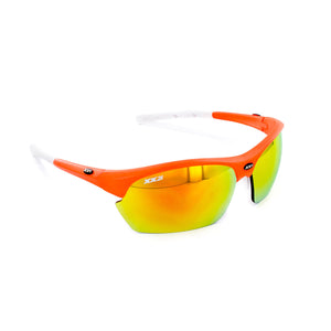 France2 Performance Sunglasses Hyper Orange with Orange Flash Lens