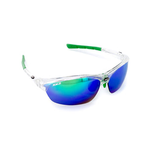 France1 Performance Sunglasses Crystal with Green Flash Lens