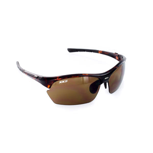 France2 Performance Sunglasses Demi Tortoise Gloss with Brown Lens