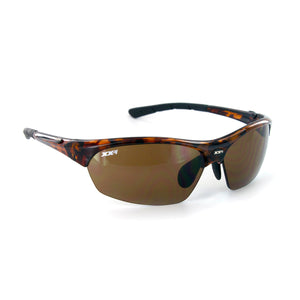 France1 Performance Sunglasses Demi Tortoise Gloss with Brown Lens