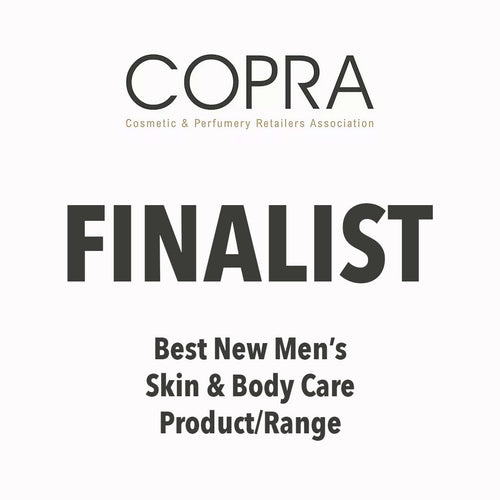 FINALIST: Best New Men's Skin & Body Care Product/Range at COPRA Awards!