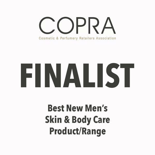 COPRA Awards Finalist - Best New Men's Skin & Body Care Range