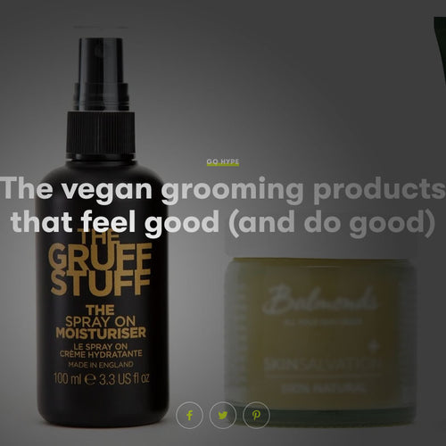 GQ: Best Vegan Grooming Products for Men