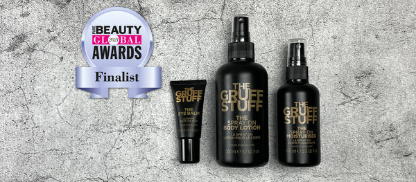 THE GRUFF STUFF shortlisted to be the Best New International Breakthrough Brand at Pure Beauty Global Awards 2021