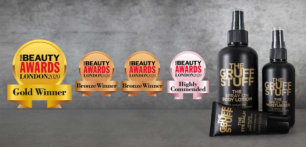 THE GRUFF STUFF - the most awarded brand at Pure Beauty Awards 2020