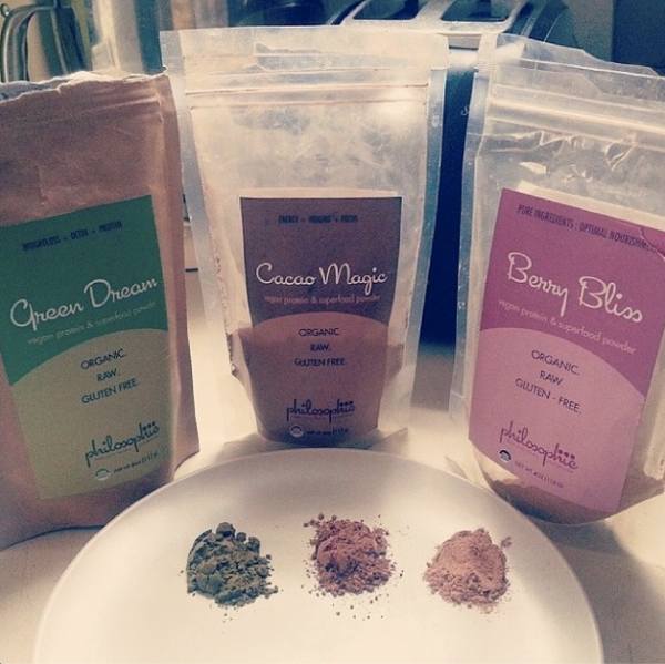 Philosophie Superfood + Protein Blends - photo courtesy of @Snackqueenrd