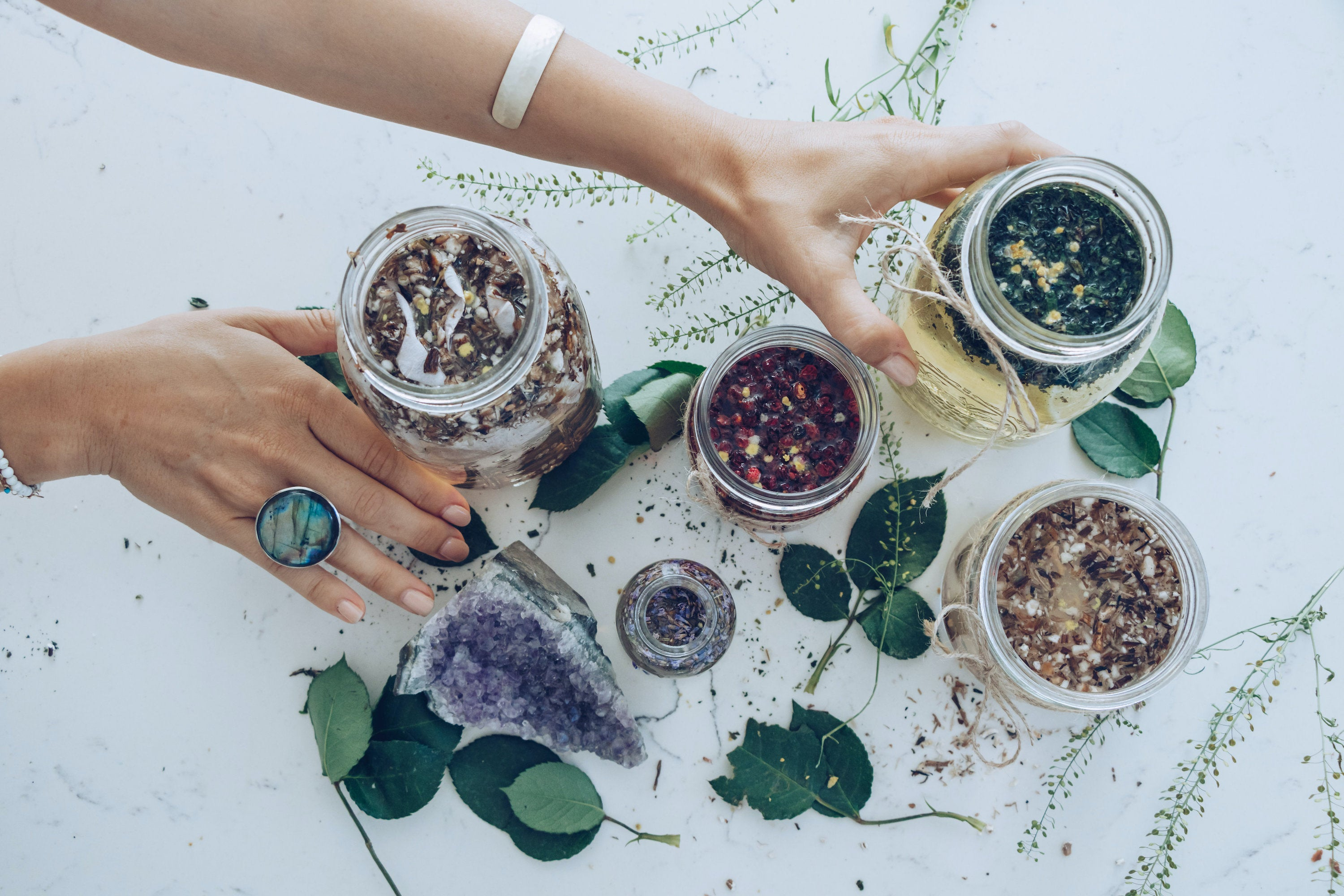 Herbal Water Infusions