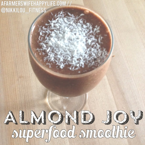 Almond Joy Superfood Smoothie Recipe