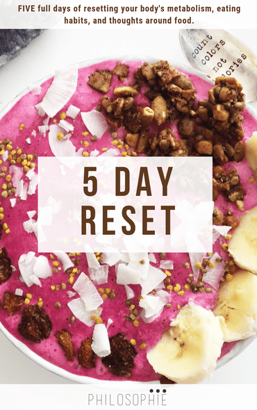 The Philosophie 5 Day Reset E-Book