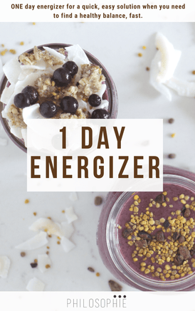 1 Day Energizing Recharge Cleanse E-Book