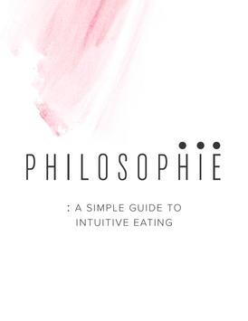 Intuitive Eating E-Book