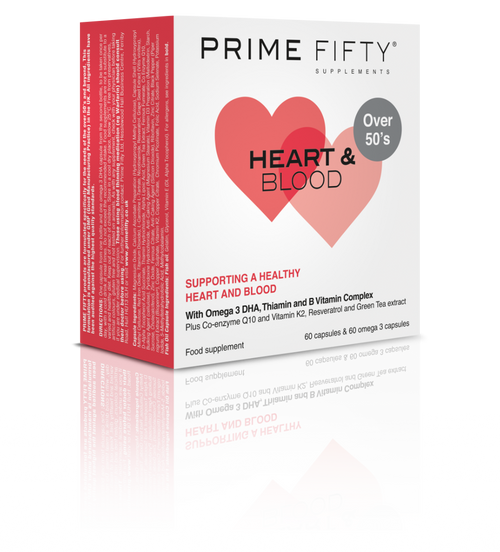 Heart & Blood - Omega 3 DHA Supplements
