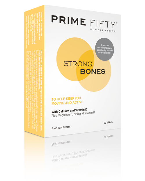 Strong Bones - Vitamin D & Calcium Tablets