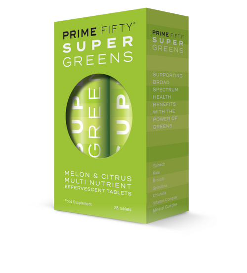Super Greens - Spirulina & Chlorella Multivitamins
