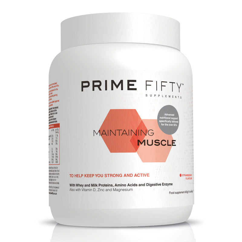 Maintaining Muscle - Whey & Milk Protein Supplements - 490g tub