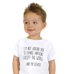 "Kids ""Change"" Onesie 40% OFF"