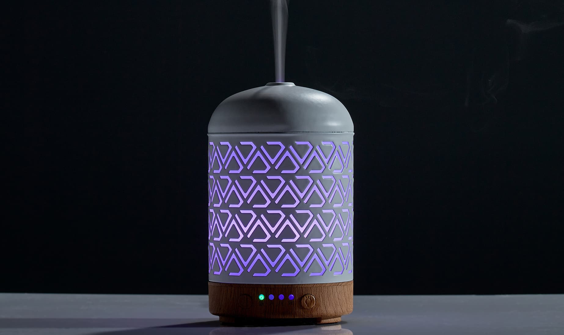 """Let the Light Out"" Essential Oil Diffuser"
