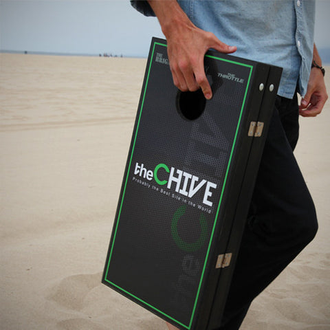Charmant ... TheCHIVE Portable Cornhole Game ...