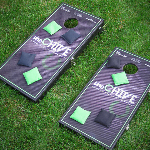 ... TheCHIVE Portable Cornhole Game