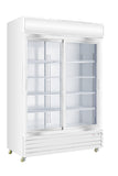 Crusader 2 sliding glass door refrigerator