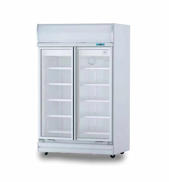 2 Glass Door Fridge Premium Refrigerator for C-Store - Cambridge Commercial Equipment