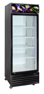 1 One Glass Door Crusader CCE605F Flower Fridge Refrigerator 430 Lts - Cambridge Commercial Equipment