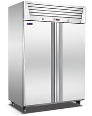 2 door CONQUEST LPW8U2F PREMIUM Upright GN Freezer