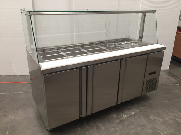 CONQUEST 1500 Noodle Bar Refrigerator CNO1500 - Cambridge Commercial Equipment