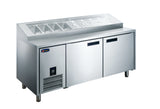 PW20 Pizza Preparation Refrigerator 2 door