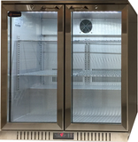 2 Glass Door Backbar Refrigerator CCE208SS