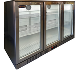 3 Glass Door Backbar Refrigerator CCE330SS