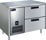2 Drawer CONQUEST LPW6T1N GN Underbar Freezer - Cambridge Commercial Equipment