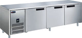 3 Solid Door CONQUEST MPW6T3HHH GN PREMIUM Underbar Refrigerator - Cambridge Commercial Equipment
