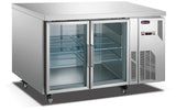 2 Glass Door MPW7T2D GN Underbar Refrigerator - Cambridge Commercial Equipment