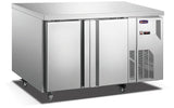 2 Solid Door CONQUEST MPW7T2H GN PREMIUM Underbar Refrigerator - Cambridge Commercial Equipment