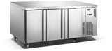 3 Solid Door CONQUEST MPW7T3H GN PREMIUM Underbar Refrigerator - Cambridge Commercial Equipment