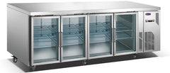 CONQUEST 4 Glass Door MPW7T4D GN Underbar Refrigerator