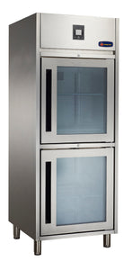 2 Half Glass door CONQUEST MPW8U1DD Upright GN Refrigerator - Cambridge Commercial Equipment