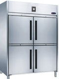 4 Half door CONQUEST LPW8U2HHHH GN PREMIUM Upright Freezer - Cambridge Commercial Equipment