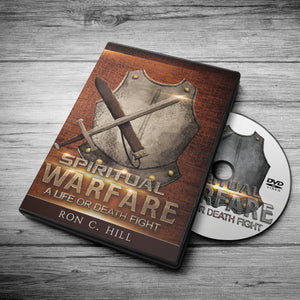Spiritual Warfare: A Life or Death Fight- 4DVDs