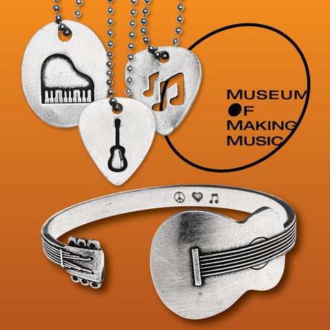museum of making music pendants and ring