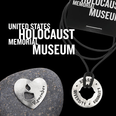 Holocaust Museum memorial rock and blessing ring