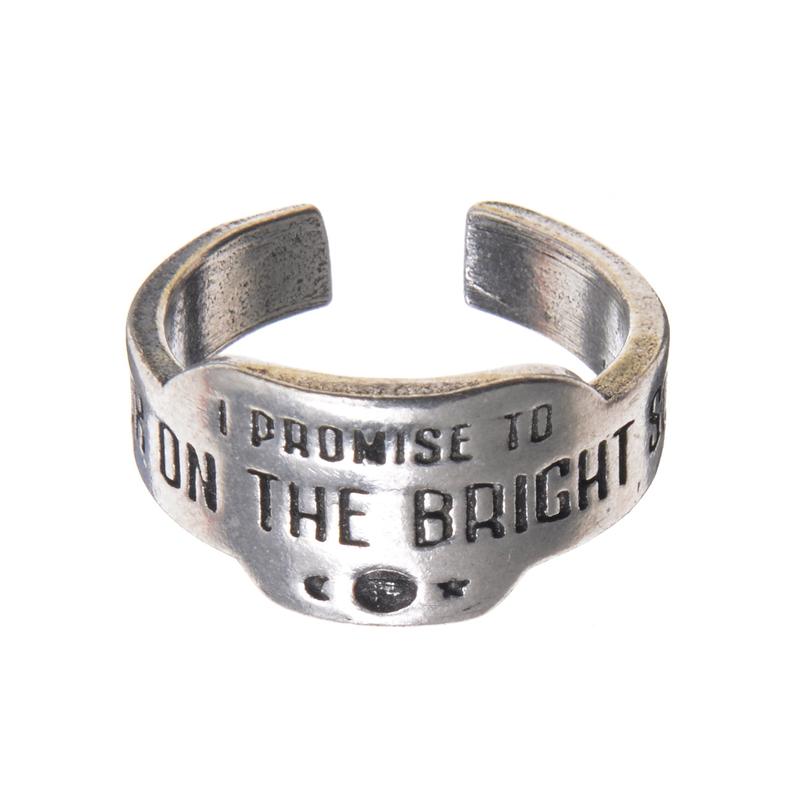 Look On The Bright Side Promise Ring - Whitney Howard Designs