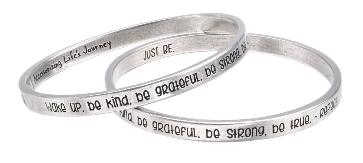 "Just Be - ""Full Circle"" Bangle - Whitney Howard Designs"