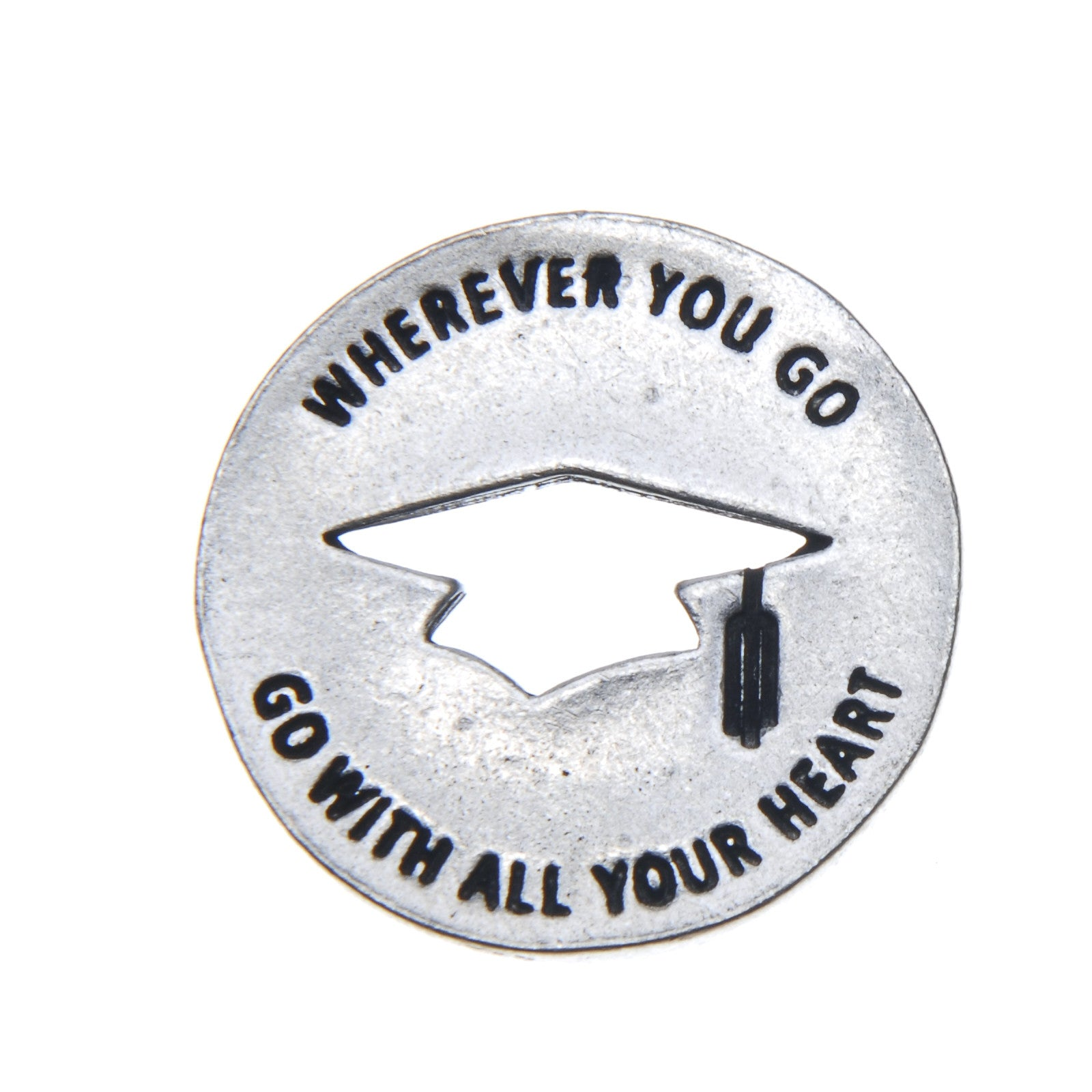 Graduation Blessing Ring (on back - wherever you go, go with all your heart) - Whitney Howard Designs