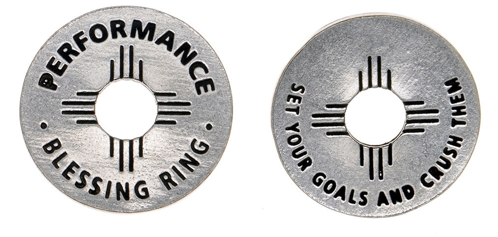 Performance Blessing Ring - Set your goals and crush them