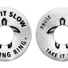 Take it Slow Blessing Rings - Pause Breathe Take it Slow - Whitney Howard Designs