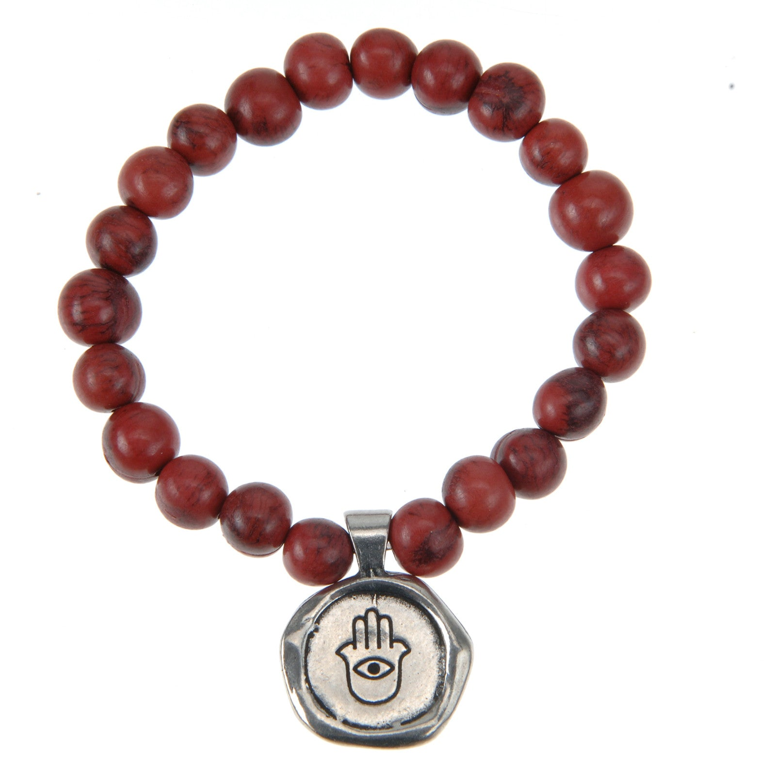 Wax Seals on Acai Seeds Of Life Bracelet - Whitney Howard Designs